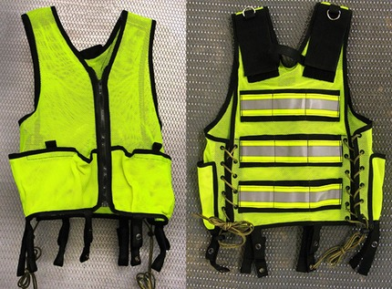 Image result for Construction site safety: Wear your safety vest at all times!